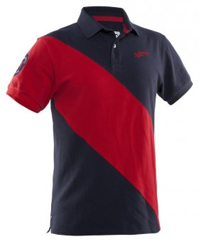 Salming Ivy Polo Men Navy-Red