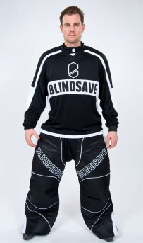 BLINDSAVE BLACK-WHITE GOALIE PANTS