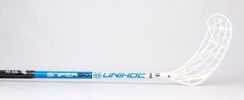 Unihoc SNIPER 30 White-Blue Junior 16/17