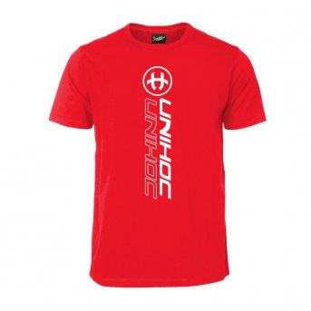 Unihoc T-shirt Player Red JR