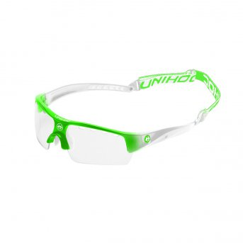 Unihoc Victory Junior brýle Neon Green - White