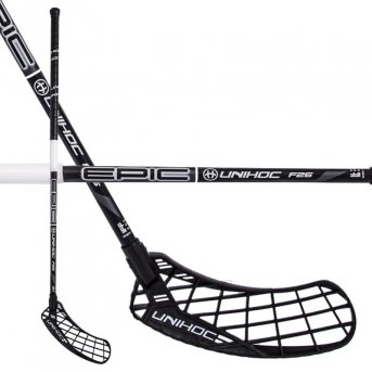 Unihoc Epic 26 Black-White 17/18