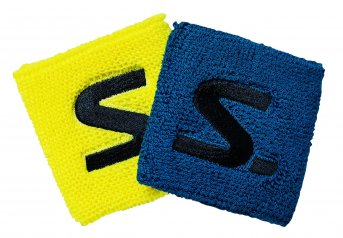 Salming Wristband Short 2-pack Electric Blue-Safety Yellow