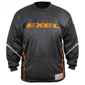 Exel S100 Goalie Jersey Black-Orange