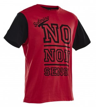 Salming Graphic Tee Red