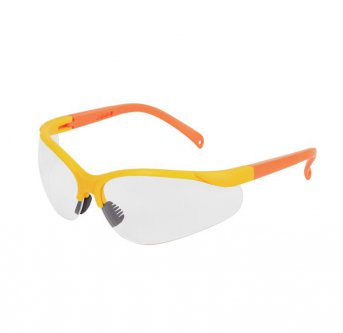 Temish Pro Shield LX Yellow-Orange Senior brýle na florbal