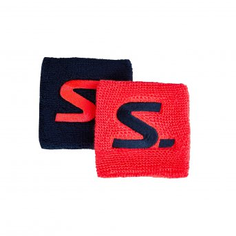 Salming Wristband Short 2-pack Coral-Navy