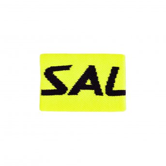 Salming Wristband Mid Yellow-Black