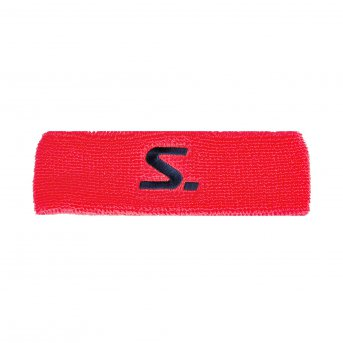 Salming Knitted Headband Coral-Navy