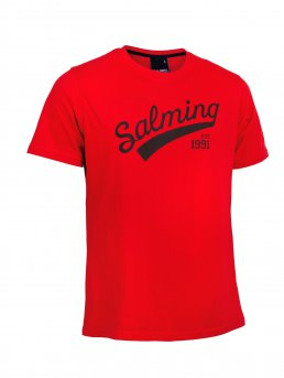 Salming Logo Tee Red