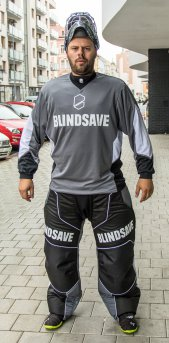 Blindsave Confidence Black Goalie Pants