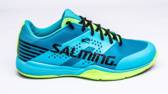 Salming Viper 5 Men Blue Atol-New Fluo Green