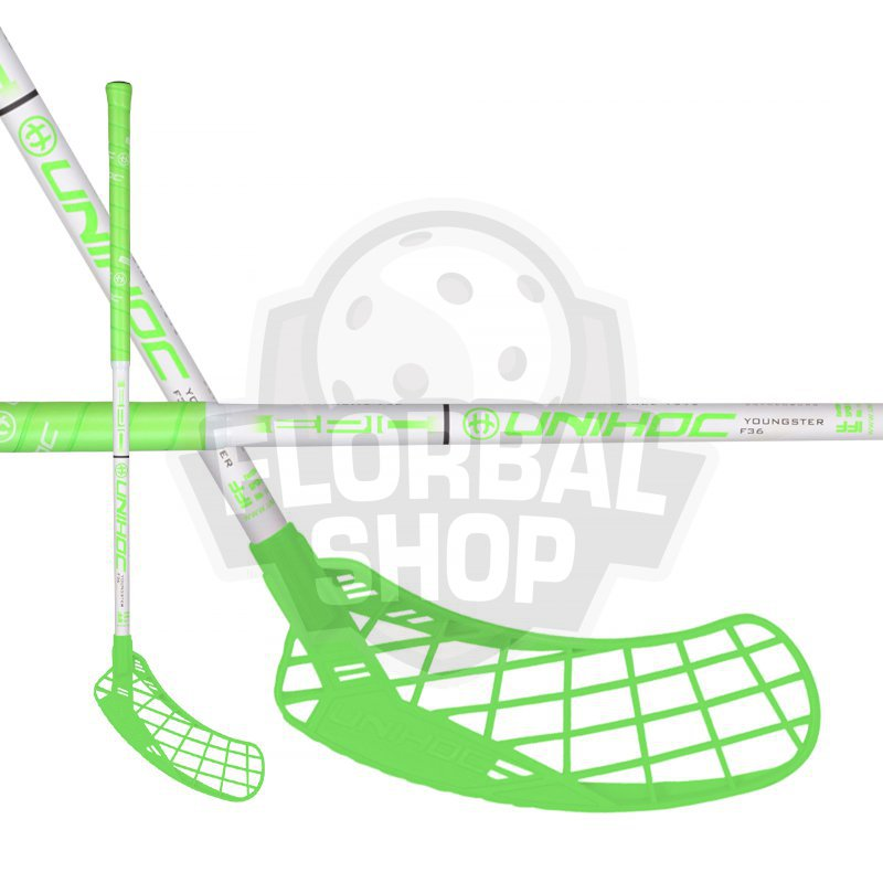 47b85eb2d Unihoc Epic Youngster 36 Grass Green 18/19 - florbal-shop.cz