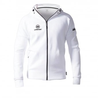 Unihoc Hood Zip Technic White Junior