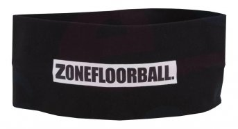 Zone Logo Wide Black Headband