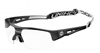 Unihoc Victory Senior Eyewear Black-White
