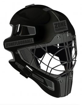 Zone Monster Cat Eye Cage Mask All Black