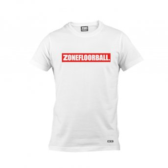 Zone T-shirt Personal White-Red