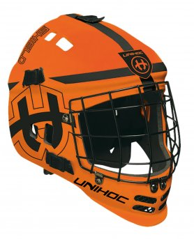 Unihoc Shield Mask Neon Orange