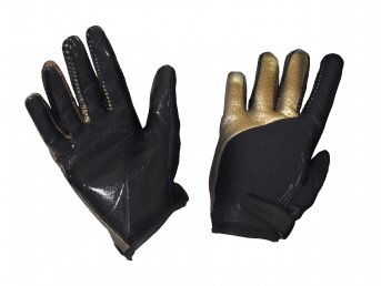 Fatpipe GK Gloves With Silicone Black-Gold rukavice