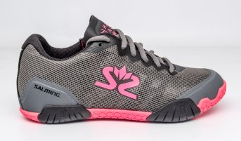 Salming Hawk Women Gun Metal - Pink