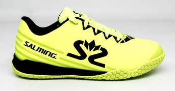 Salming Spark Shoe Kid Fluo Yellow-Black