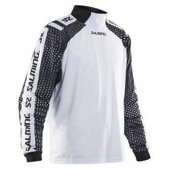 Salming Attila Goalie Jsy SR White-Black