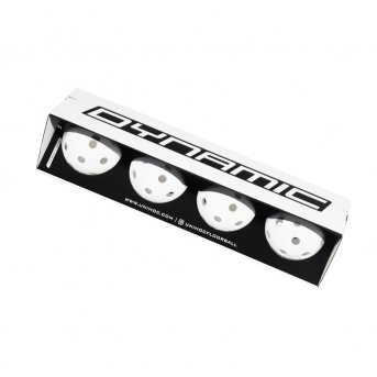 Unihoc Dynamic 4 pack White
