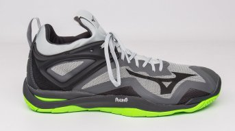 Mizuno Wave Mirage 3 Grey-Black-Green