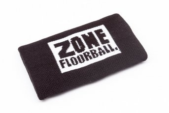 Zone Logo Black Wristband