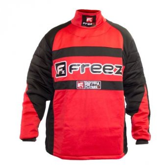 Freez Z-80 goalie shirt Black-Red