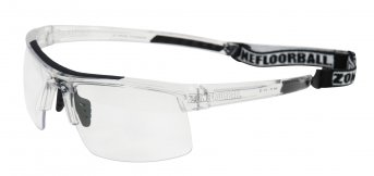 Zone Protector Senior Seethrough-Black Sport Glasses