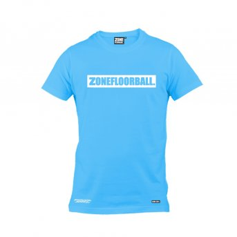 Zone T-shirt Personal Blue-White