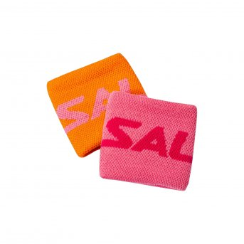 Salming Wristband Short 2-pack New Orange-Pink