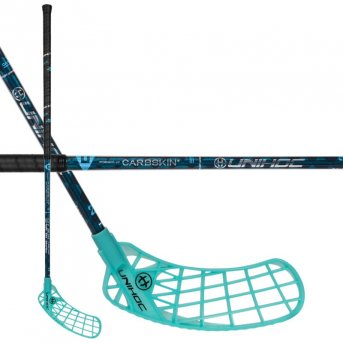 Unihoc Iconic Carbskin 29 JR Turquoise ICE